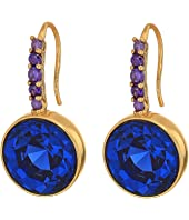 Kate Spade New York - Reflecting Pool Pave Round Drop Earrings