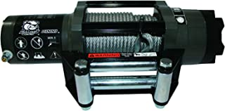 Bulldog Winch 15022 Winch (6000lb Power Sports with 55 Ft. Wire Rope, Roller Fairlead)