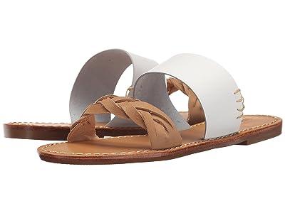 Soludos Braided Slide Sandal (White) Women