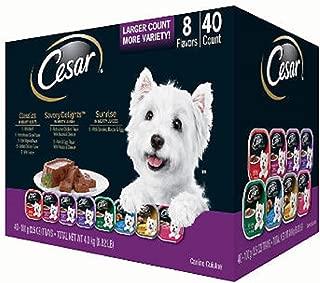 *Cesar Canine Cuisine Wet Dog Food, Variety Pack (3.5 oz, 40 ct.)