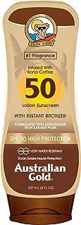Australian Gold Australisch zonnebrandcrème met SPF 50 goudbruiningsmiddel 237 ml