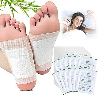 Łatki do stóp, Kapmore 100 szt. podkładki na stopy do usuwania toksyn ciała, łagodzą ból pielęgnacja stóp podkładki z przy...