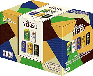 【父の日/贈り物】ヱビス 5種飲み比べセット 6本ギフトボックス4個入り [ 350ml×24本 ]