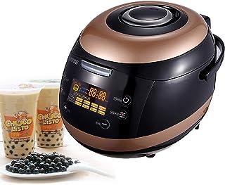 5L commerciële volledig automatische parel pot, niet-Stick melk thee parel maker, parel tapioca fornuis Boba thee zeepbel ...