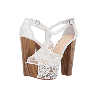 Jessica Simpson Dany (White) High Heels