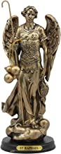 """Ebros Byzantine Eastern Orthodox Catholic Church Archangel of The Angelic Council Statue 8"""" Tall Figurine with Brass Name ..."""