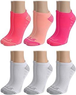 Avia Women's Performance Moisture Wicking Mesh Vent No Show Socks (6 Pack)