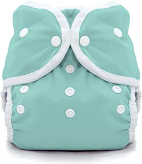 Thirsties Duo Wrap Cloth Diaper Cover- Snap - Aqua - Size 2