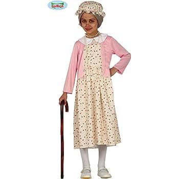 Guirca Disfraz de Abuela para niña: Amazon.es: Juguetes y juegos