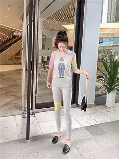 レディーズ春と夏 気質 女神ファン パンツスーツ ファッションツーピーススーツ パンツスーツ 余暇 ファッションスーツ レディース 上下 セット 夏