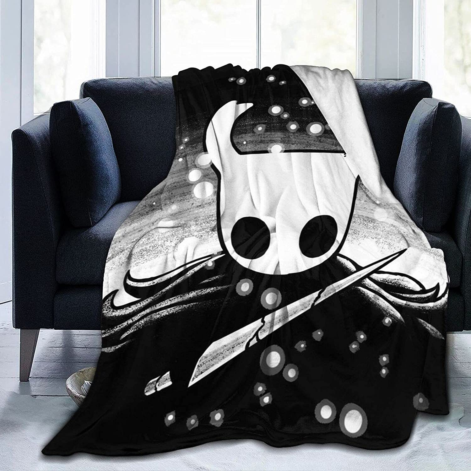 Hollow Knight Blanket trend rank Soft Comfortable and Warm Flannel National products Blankets