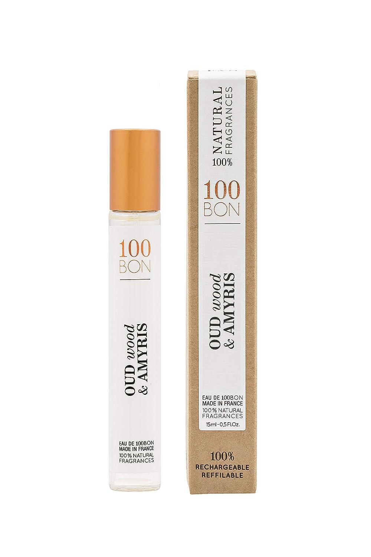 100 BON Columbus Mall oud wood amyris eau de Oz spray service unisex Fl parfum 0.5