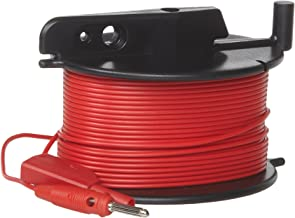 Fluke GEO CABLE-REEL 50M Durable Red Cable Reel for Earth Ground Testing, 50m Length