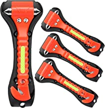 VicTsing 4 Pack Safety Hammer, Emergency Escape Tool with Car Window Breaker and Seat Belt Cutter, Life Saving Survival Kit