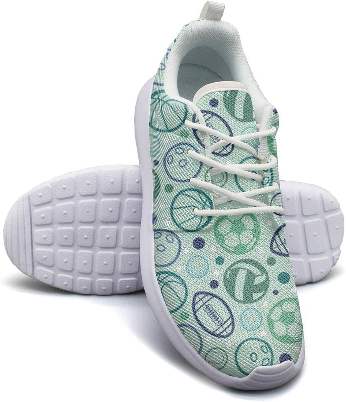 Rugby Baseball Basketball Soccer Volleyball Tennis Women's Fashion Tennis shoes Trendy Mesh Lightweight Sneaker
