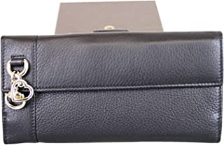 028d200af7ca Gucci Women's Continental Black Leather Charm Wallet 270027 1000