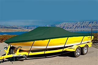 7 oz Solution Dyed Polyester Material Custom Exact FIT Boat Cover SEA DOO Speedster 150 W/Foldable Tower 2012