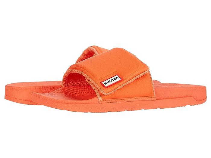 Hunter  Original Adjustable Slide (Orange Peel Dorris) Mens Slide Shoes