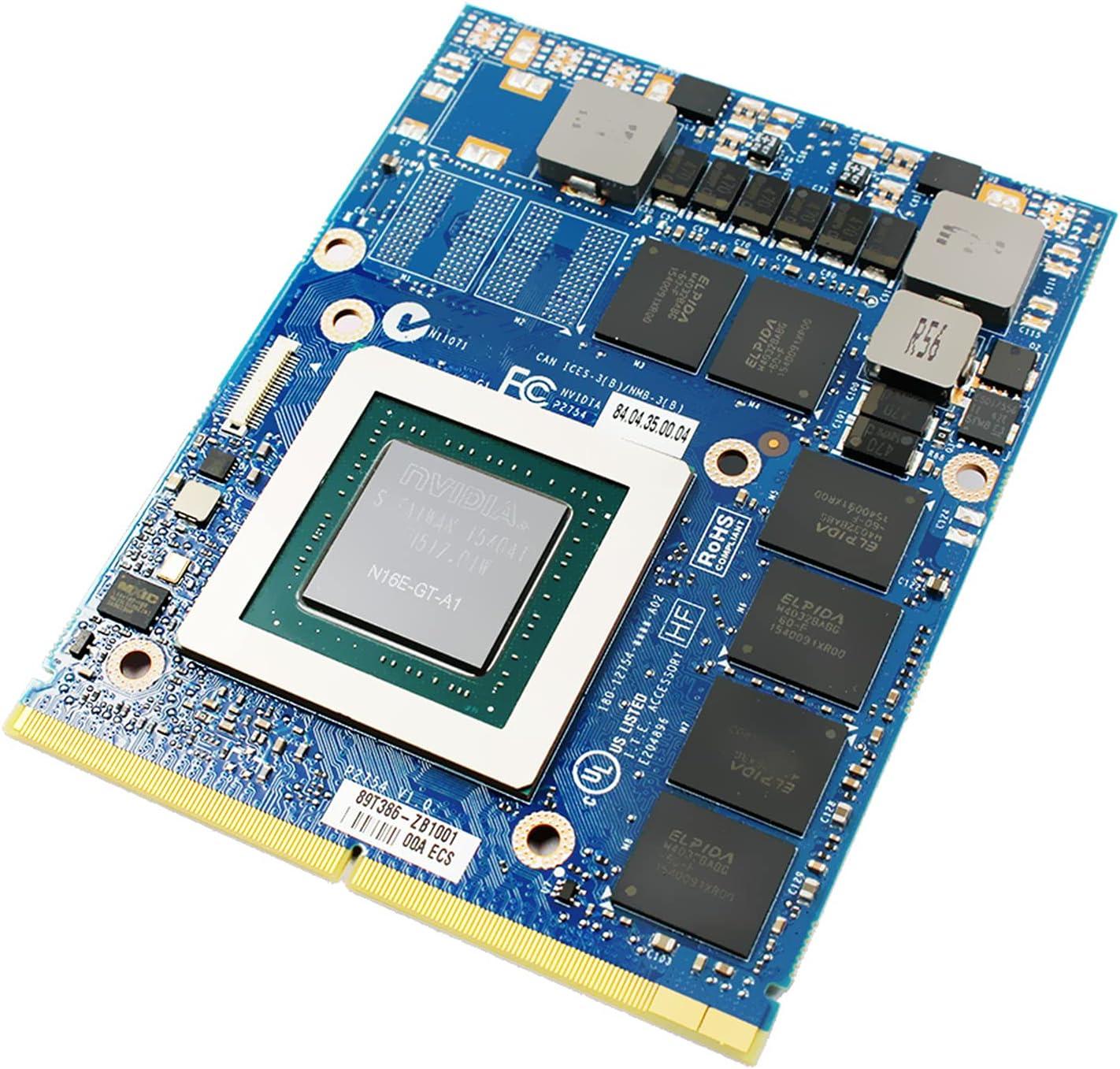 Tarjeta gráfica de 6 GB de reemplazo, para NVIDIA GeForce GTX 970M, para MSI Clevo Gaming Laptop P150EM P150SM P170EM P370EM P570WM P750 P770ZM P870DM, N16E-GT-A1 GDDR5 MXM VGA Board