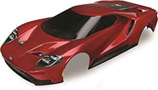 Traxxas Red Painted Ford Gt Body (1: 10 Scale) Vehicle