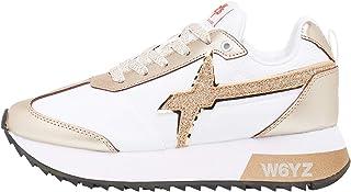 w6yz KIS-W.-Sneaker con Dettaglio Glitter-ROSÈ