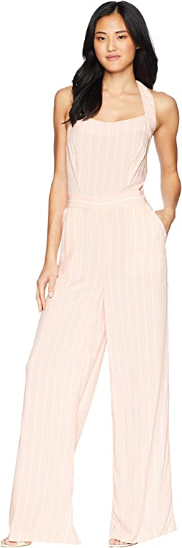 Soft Pink Cindy Stripe
