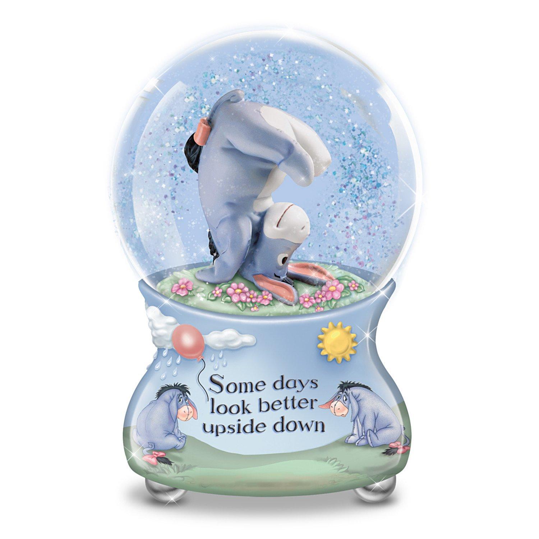 Image of Inspiring Winnie the Pooh Eeyore Musical Water Globe