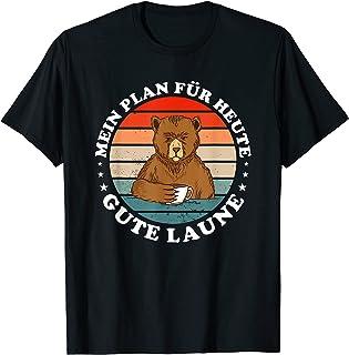 Mein Plan für Toute Gute Laune Hasse Menschen Bear Coffee Tシャツ