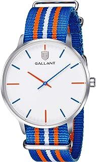 Mens Watch, Men's Wristwatch Quartz Watch Minimalist Watches with Nylon Strap Waterproof Teenager Wrist Watch Reloj Hombre for Casual Dress Fashion Gift