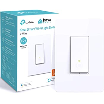 Kasa Smart HS210 3 Way Smart Switch by TP-Link, Wi-Fi Light Switch Works with Alexa and Google Home, Neutral Wire Required, No Hub Required, UL Certified, 1-Pack