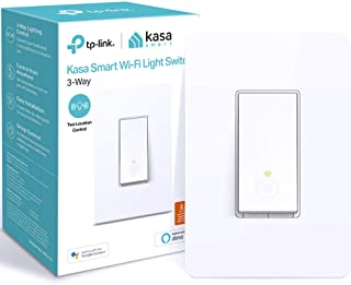 سوئیچ چراغ هوشمند 3 طرفه TP-Link Kasa ، سوئیچ هوشمند WiFi با Alexa Echo کار می کند