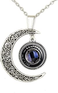 Lan Jin Art Custom Photog Camera Lens Necklace Pendant Jewelry Lover Personalized Charm Gift