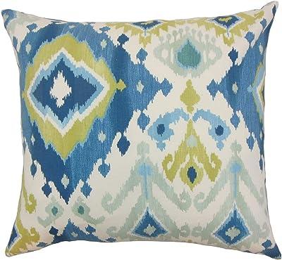 Amazon Com Pillow Perfect 585840 Outdoor Indoor Zoe Mallard Lumbar Pillows 11 5 X 18 5 Blue 2 Pack Home Kitchen
