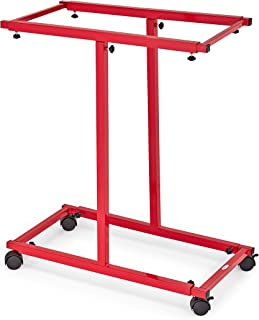 Adir Corp. Mobile Blueprint Storage - Adjustable Vertical Poster Display Rack/Plans Holder - File Organizer Stand for Home...
