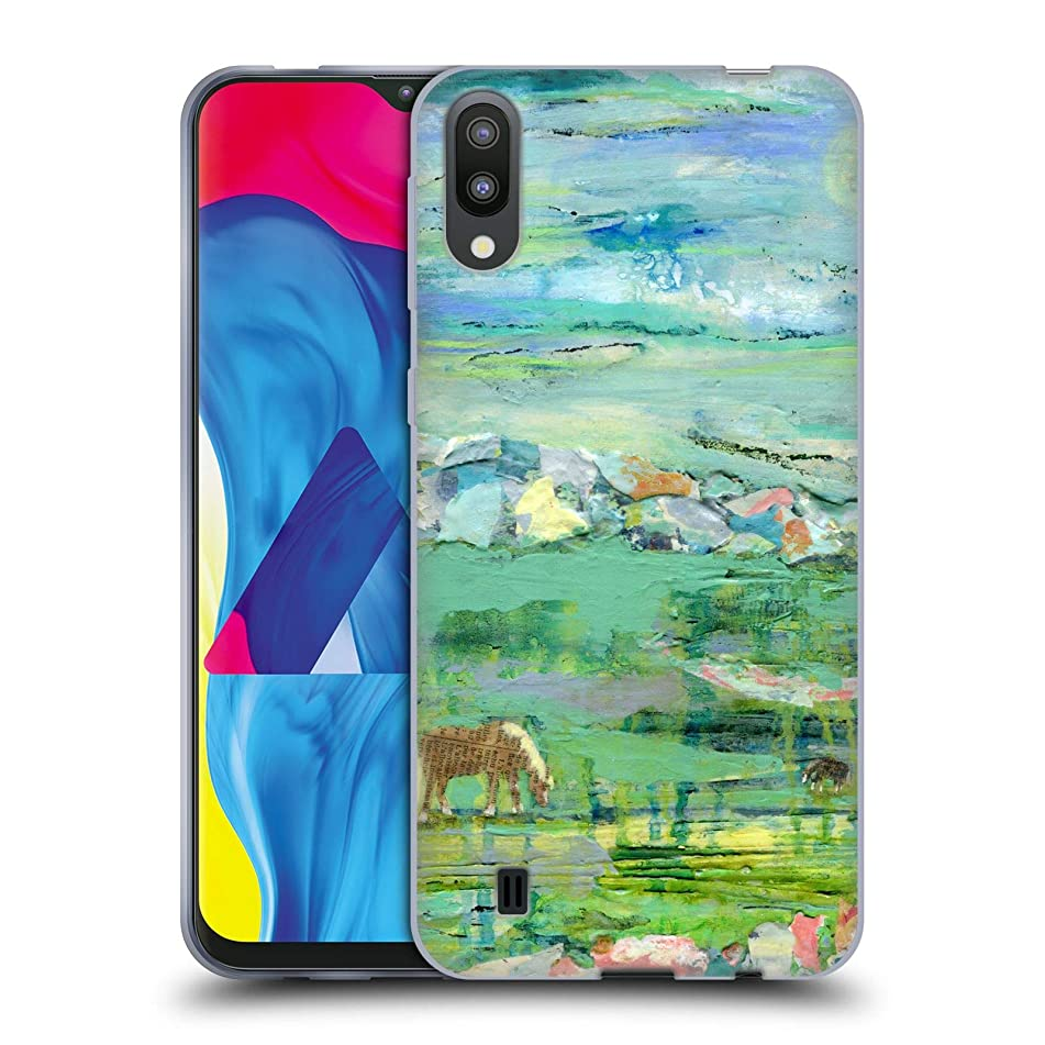 Official Wyanne Andre and Roscoe Abstract Soft Gel Case Compatible for Samsung Galaxy M10 (2019)