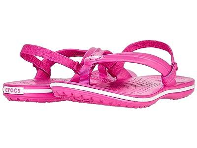 Crocs Kids Crocband Strap Flip (Toddler/Little Kid) Kids Shoes