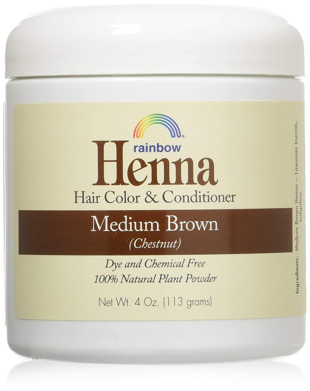 Henna Persian - Med Brown Rapid rise Don't miss the campaign Chestnut 4 -set 10 oz 2 pack of