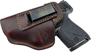 Relentless Tactical The Defender Leather IWB Holster For S&W M&P Shield –..