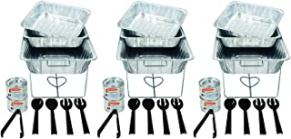 Party Essentials 33 Piece Party Serving Kit, Includes Chafing Kits and Serving Utensils