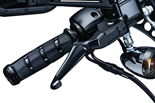 Kuryakyn 1847 Motorcycle Handlebar Accessory: Boss Blades Clutch and Brake Trigger Levers for 1996-2017 Harley-Davidson Motorcycles with Cable Clutch, Gloss Black, 1 Pair