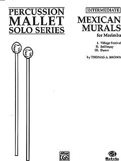 Mexican Murals: Marimba (Percussion Performance Series)