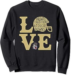 James Madison Dukes Football Love Sweatshirt - Apparel