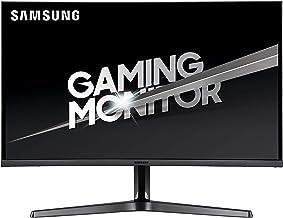 Samsung 27-Inch CJG56 144Hz Curved Gaming Monitor (LC27JG56QQNXZA) – WQHD Computer Monitor, 2560 x 1440p Resolution, 4ms R...