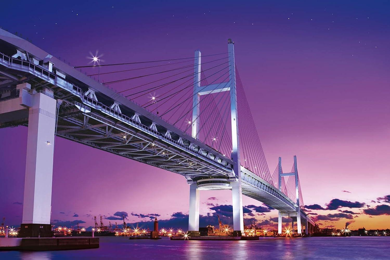Kanagawa 23585  2016 Very small piece Bay Bridge night view super master of the puzzle (japan import)