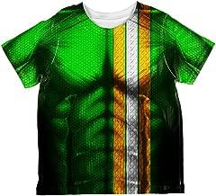 St Patrick's Day Irish Champion Superhero Costume All Over Toddler T Shirt