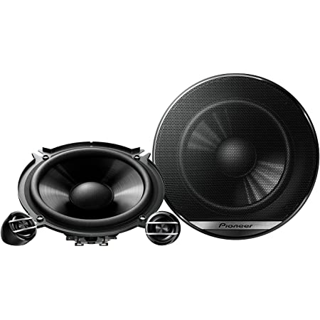 Pioneer Ts G130c 2 Weg Komponentenlautsprecher Für Autos 250 W 13 Cm Kraftvoller Klang Impp Membran Für Optimalen Bass 40 W Eingangsnennleistung 44 Mm Einbautiefe Schwarz 2 Lautsprecher Auto