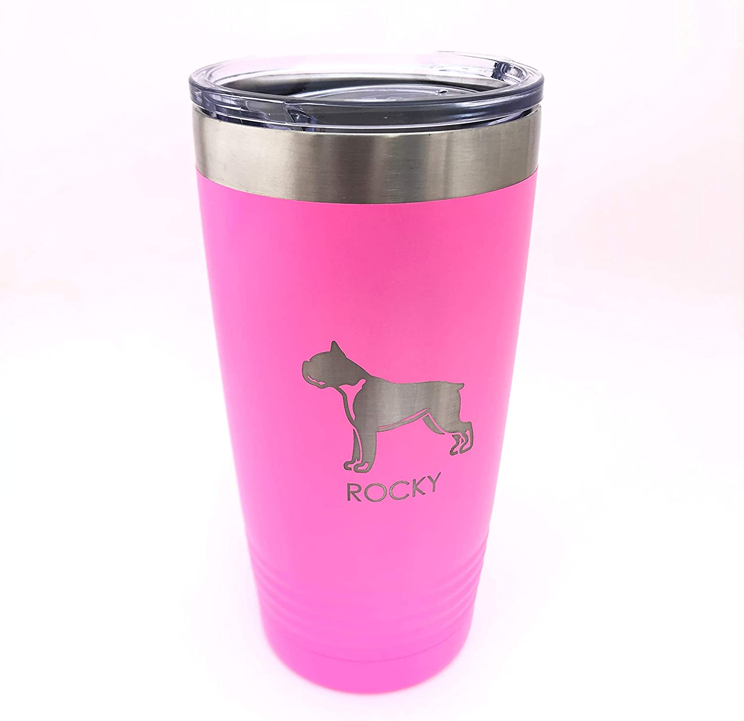 Custom Tumbler Choose Your Pet 20oz Breed Double Insulated 信託 Wall 人気ブレゼント