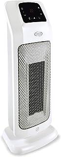 ARGO Mood Calentador de ventilador Interior Negro, Blanco 2000 W - Calefactor (Calentador de ventilador, Cerámico, 12 h, Interior, Piso, Negro, Blanco)
