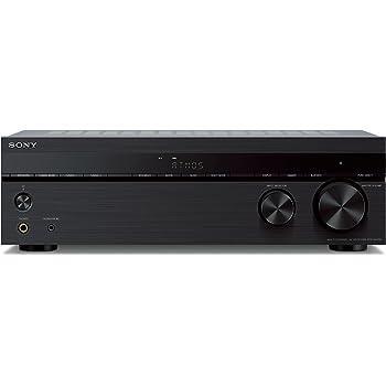 Sony STR-DH790 7.2-ch Surround Sound Home Theater AV Receiver: 4K HDR, Dolby Atmos & Bluetooth Black