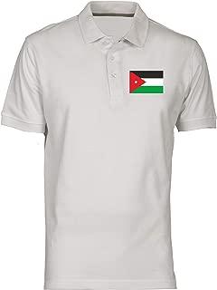 Polo por Hombre Blanco TM0203 Jordan Flag: Amazon.es: Ropa y ...